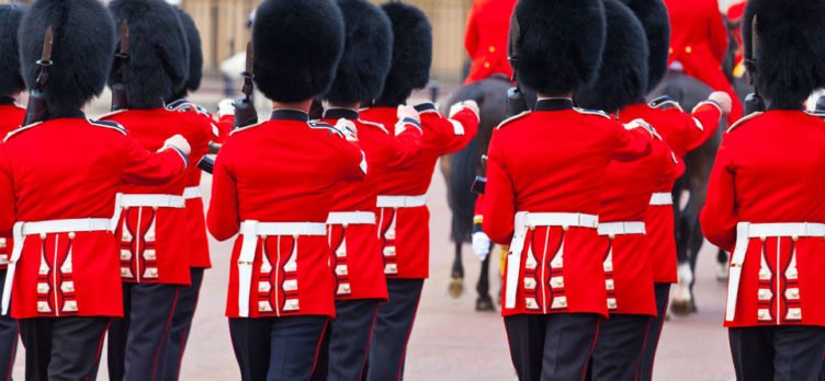 Changing of the Guard & Buckingham Palace Tour