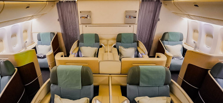 Korean Air - Boeing 777 First Class Cabin - Cherag Dubash