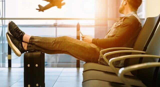 Sitting in Airport Unsplash