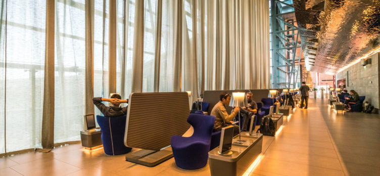 Qatar Airways Al Mourjan Lounge - Seating