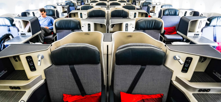 Hainan Airlines A350 Business Class Cabin - Cherag Dubash