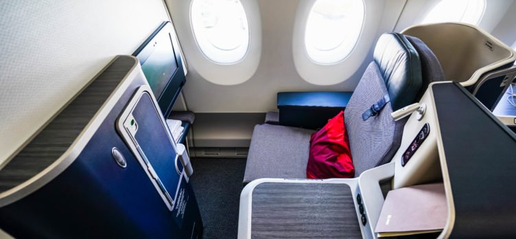 Hainan Airlines A350 Business Class Seat - Cherag Dubash
