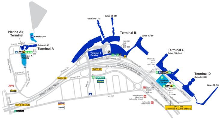 Laguardia Airport In New York Lga Terminal Guide 2020