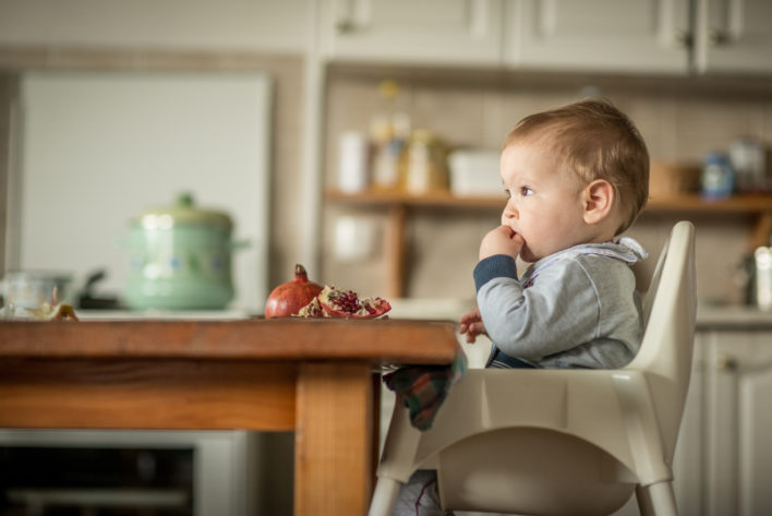 Junior Car Booster Seat Kids Lightweight Portable Travel Chair Red