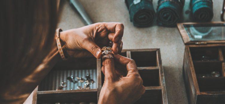 Travel Jewelry Box and Storage
