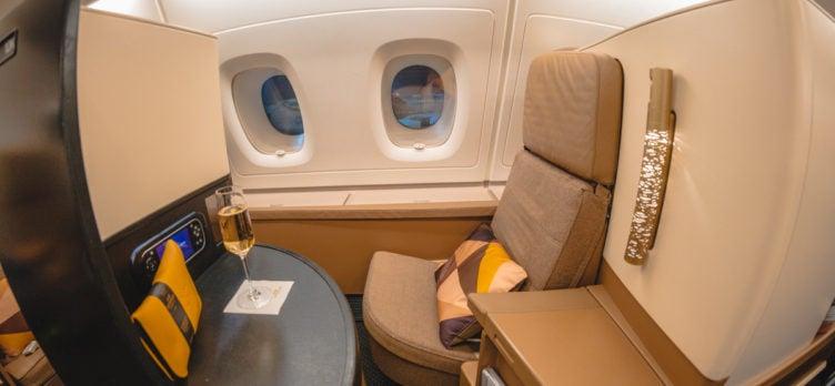 Etihad Airways Airbus A380 Business Studio Seat