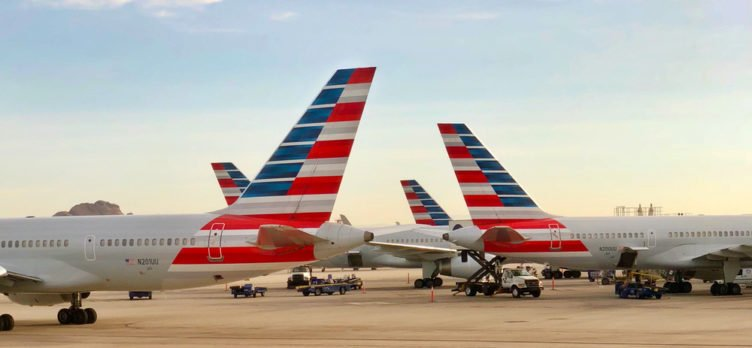 American Airlines Tail Fins