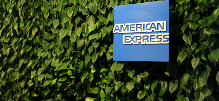 American Express Logo At A Centurion Lounge