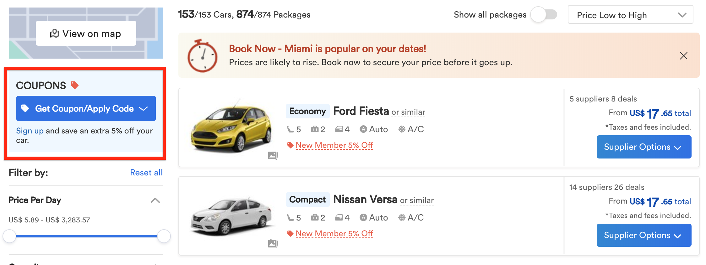 The 13 Best Websites For Finding Cheap Car Rentals 2020