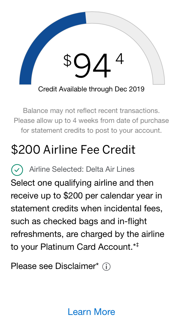 Amex Platinum Card: Maximize Your $11 Airline Credit [11]