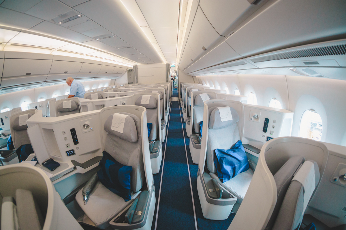 Finnair Airbus A350 & A321 Business Class Review [Amazing Pics]