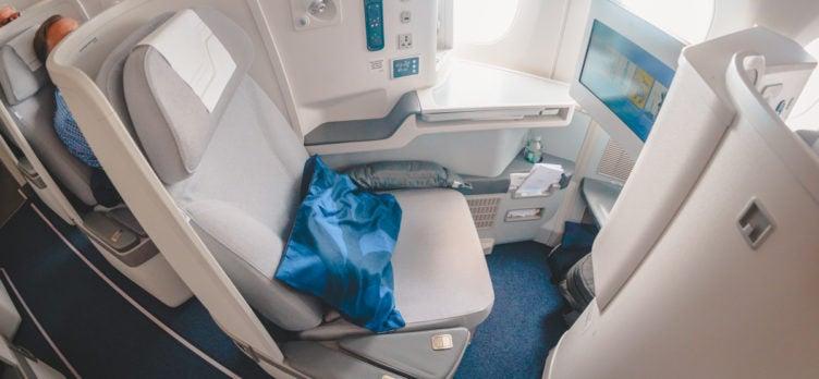 Finnair Airbus A350 Business Class Seat 6A