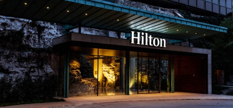 A Hilton Hotel In Budapest Hungary