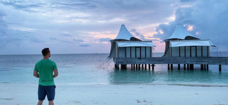 Alex Miller of Upgraded Points, Maldives, W Spa