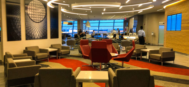 American Airlines Flagship Lounge JFK foyer