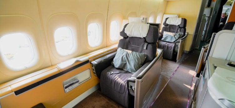 Lufthansa B747-8 First Class Cabin - Cherag Dubash