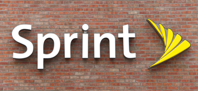 A Sprint Mobile Phone Store Sign