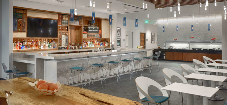 American Express Centurion Lounge IAH Bar