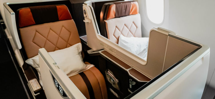 Oman Air B787-9 Business Class