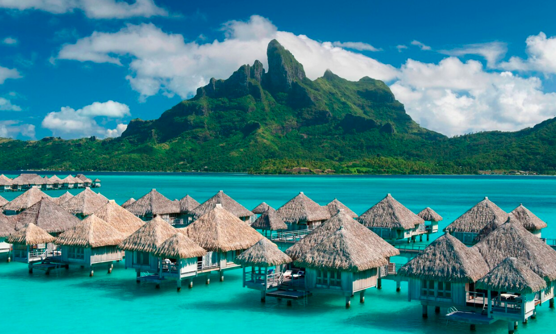 Use Marriott points to stay at this beautiful resort in Bora Bora. Image Credit: Marriott