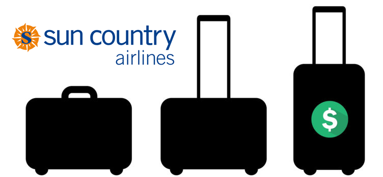 Sun Country Airlines baggage