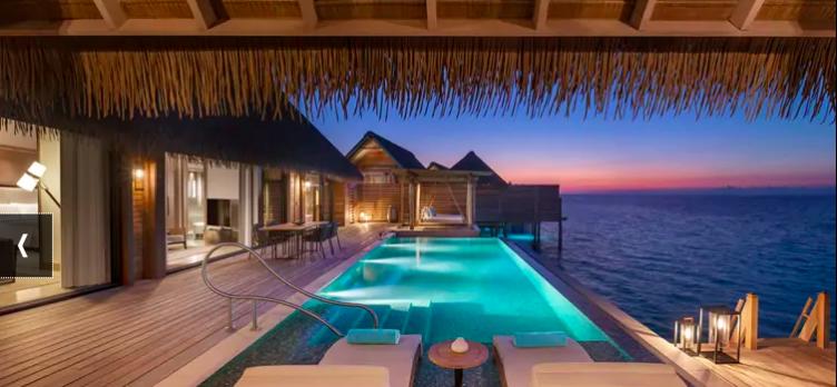 Waldorf Astoria Maldives Ithaafushi Overwater Villa
