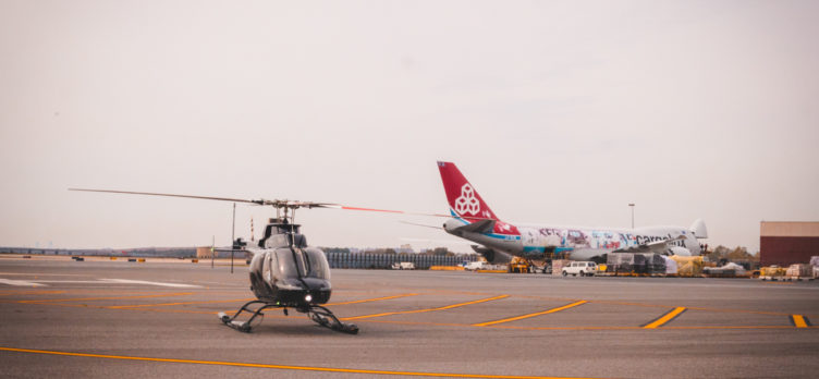 BLADE Bell 407 Helicopter at JFK