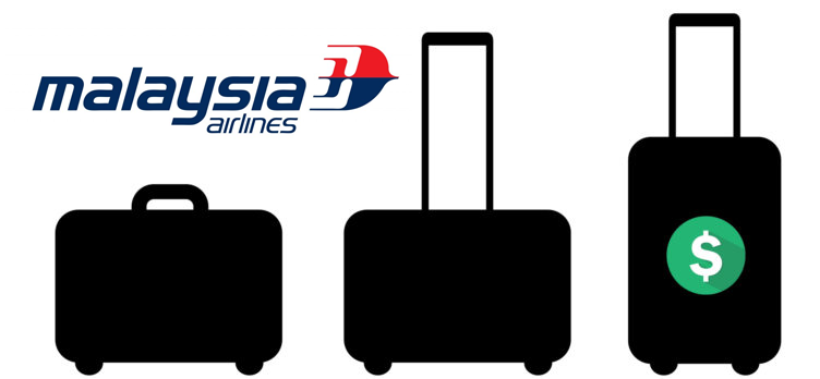 Malaysia Airlines baggage