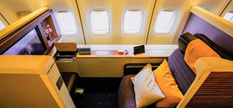 Thai Airways Boeing 747 - First Class