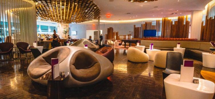 Virgin Atlantic Clubhouse JFK Lounge Area