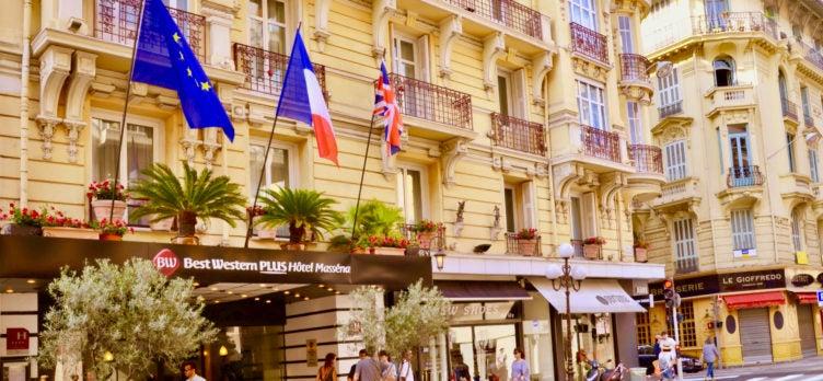 Best Western Hotel, Massena, Nice, France, Europe
