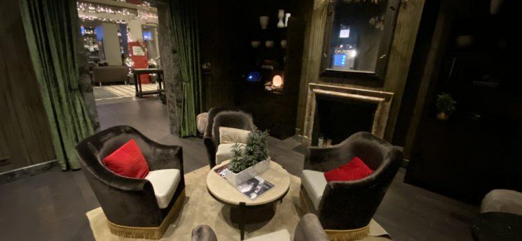 The Talbott Hotel Lobby Chairs