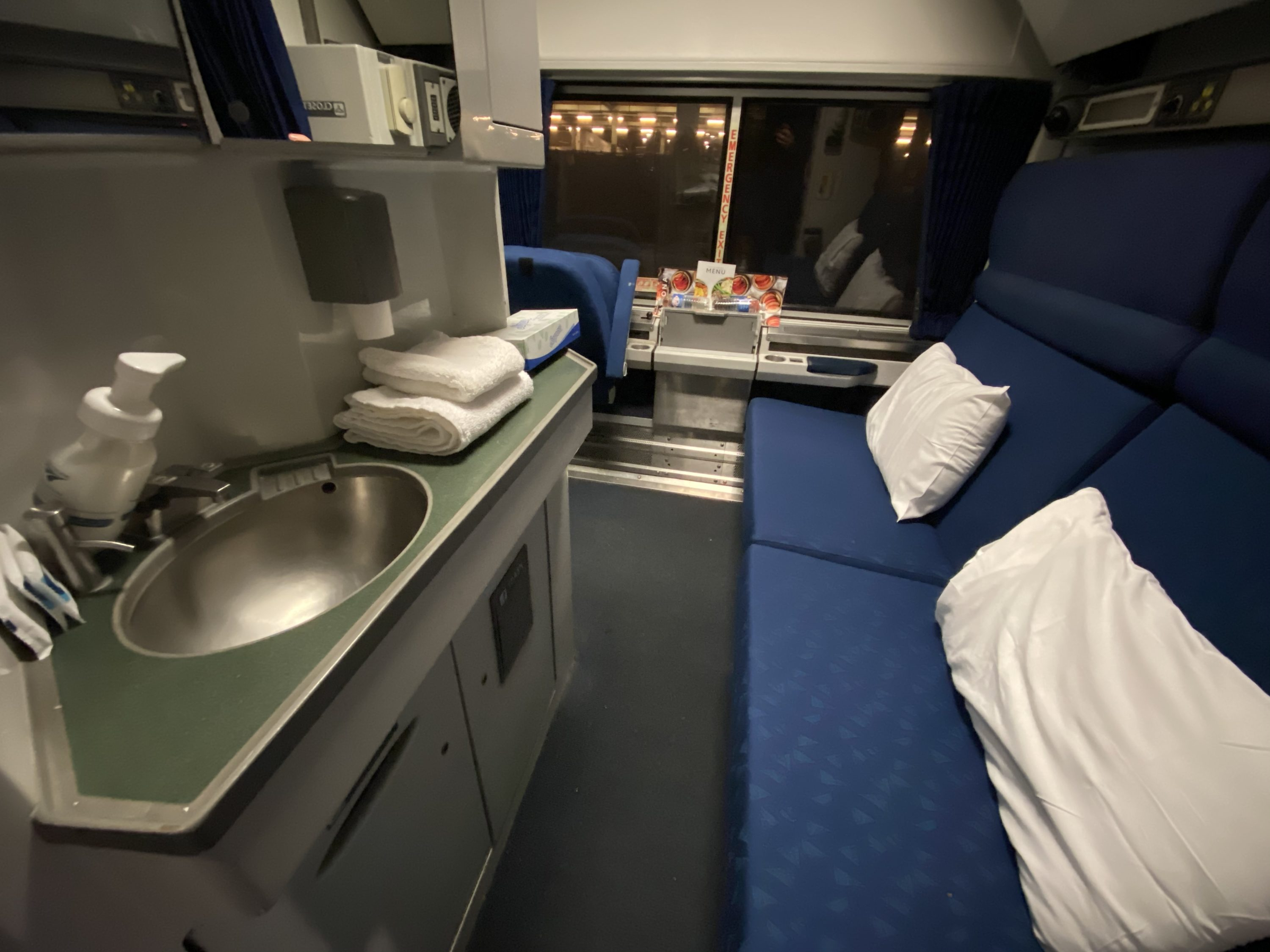 amtrak silver meteor sleeper service review dc to miami