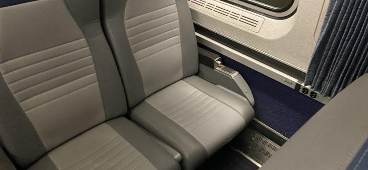 Amtrak Business Class Pair Seats