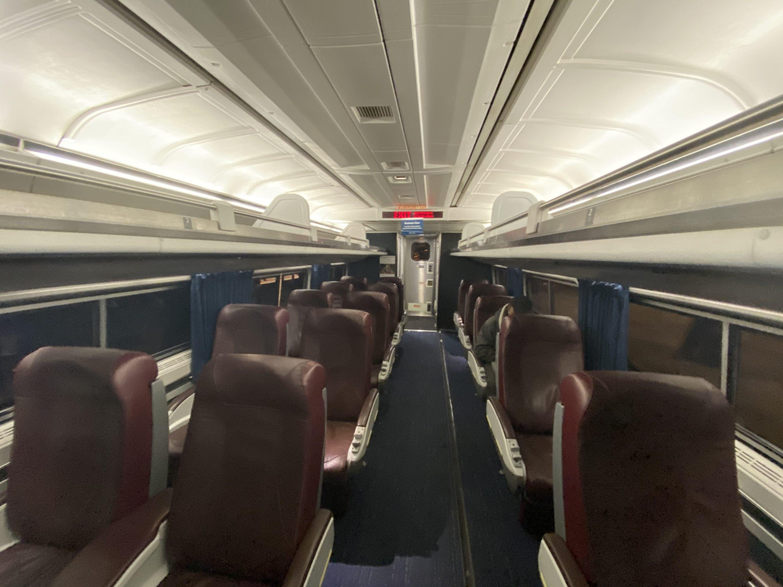 Amtrak Northeast Regional Business Class Full Review 2020