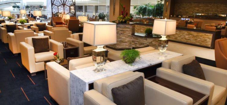 Emirates Lounge Los Angeles International Airport