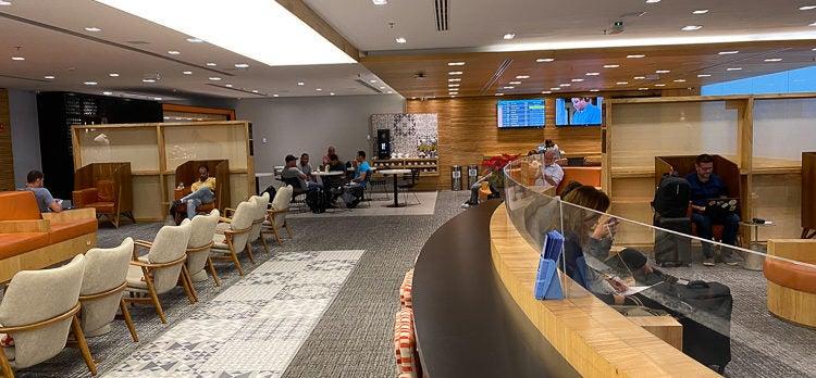 GOL Premium Lounge Seating