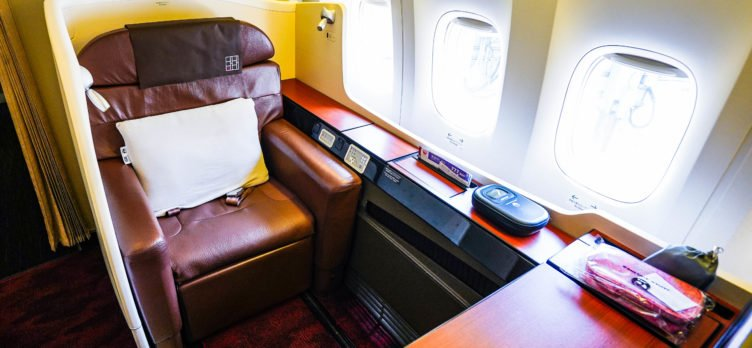 Japan Airlines Boeing 777 300ER First Class