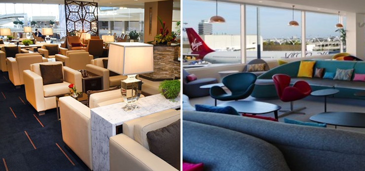 Los Angeles Airport Lounges