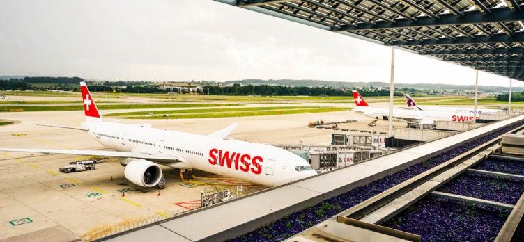 Swiss Air First Class Lounge