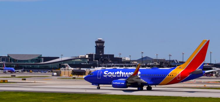 bwi southwest plane