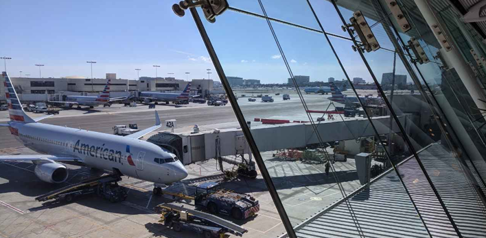 American Airlines Admirals Club Lounge LAX