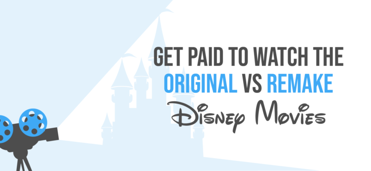 Get Paid to Watch Disney Movies