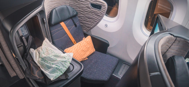 Turkish Airlines Boeing 787 9 Business Class Seat 8A