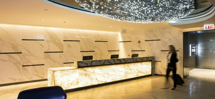 United Polaris Lounge ORD Entrance OFFICIAL