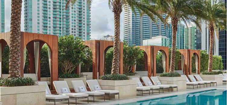 SLS LUX Brickell sbe Chase Sapphire Reserve hotel