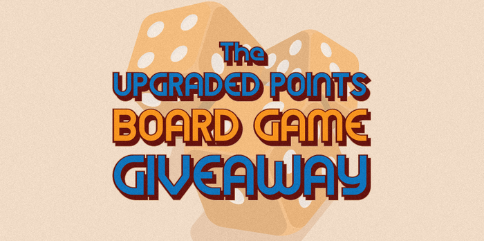 Upgraded Points Board Game Giveaway