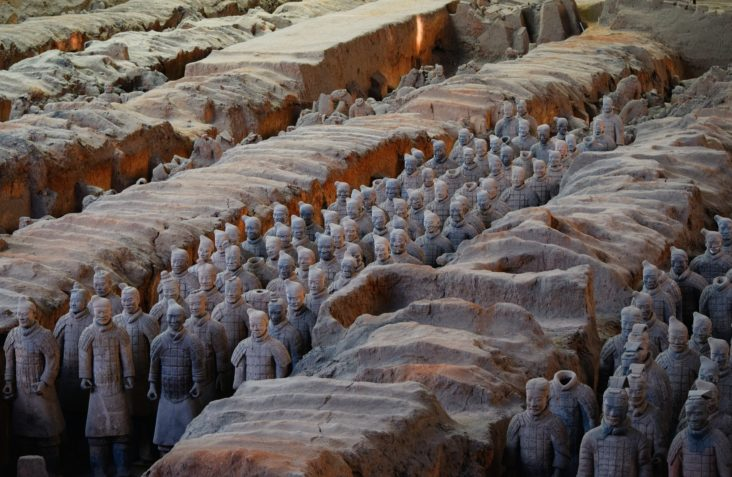 terra cotta warriors of xian