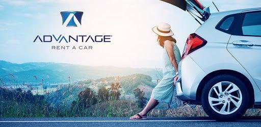 Advantage Rent A Car open trunk