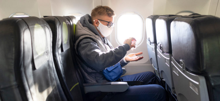 How to Sanitize Your Airplane Seat